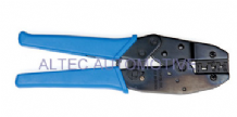 Professional quality ratchet crimping tool for un-insulated crimp terminals<br>ALT/TT73-01